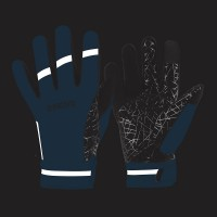 NEW: Classic Waterproof Cycling Gloves - Blue
