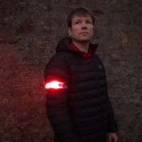 Classic Red LED Armband