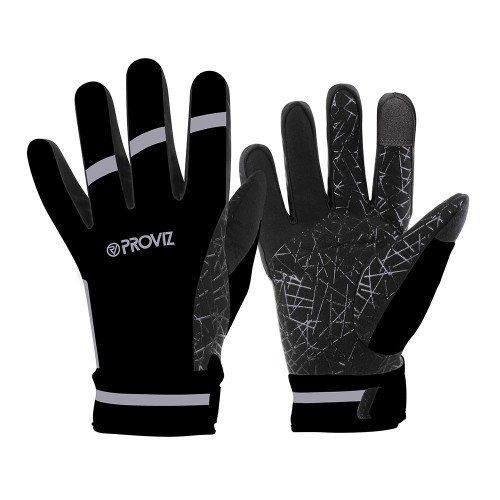 NEW: Classic Waterproof Cycling Gloves - Black