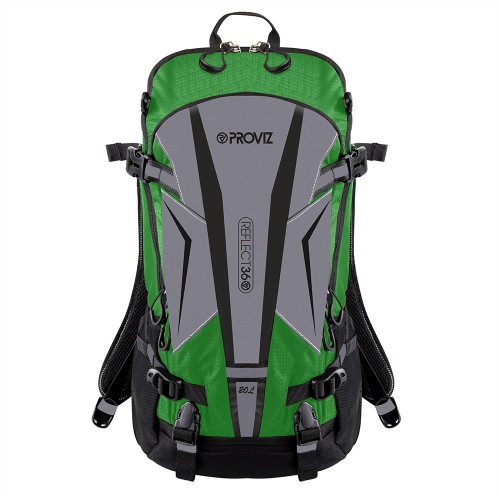 NEW: REFLECT360 Touring Backpack - Green/Reflective - 20 Litres