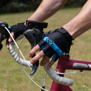 NEW: Classic Cycling Mitts - Blue