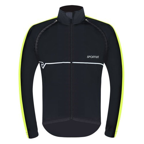 Sportive Men's Convertible Softshell Cycling Jacket / Gilet