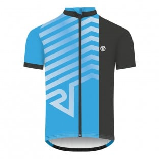 NEW: Classic Men's Short Sleeve Endurance Cycling Jersey - Blue