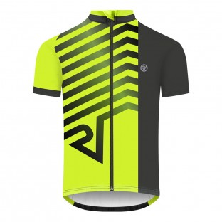 NEW: Classic Men's Short Sleeve Endurance Cycling Jersey - Yellow