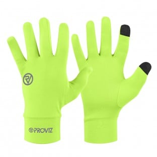 NEW: Classic Lightweight Running Gloves - Yellow