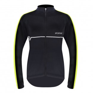 Sportive Women's Long Sleeve Cycling Jersey